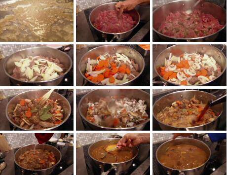 Stap voor stap recept om stoofvlees te maken volgens SOS Piet Huysentruyt